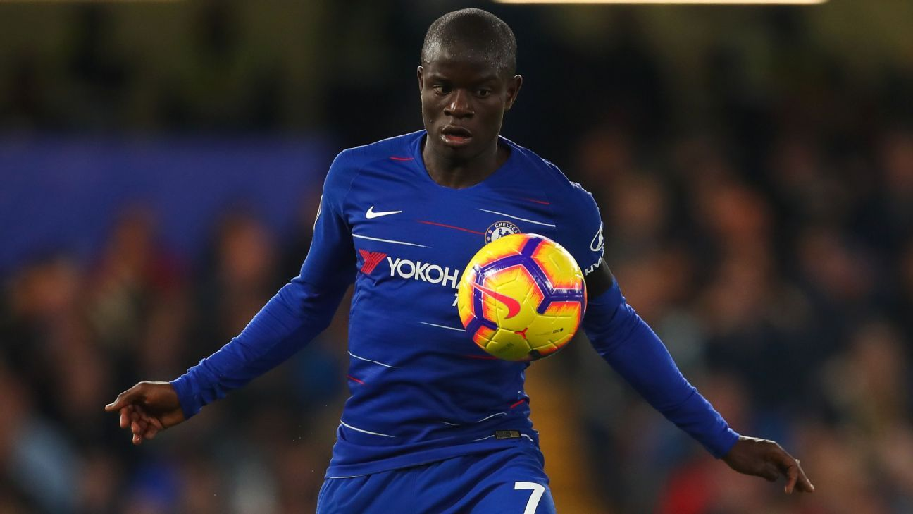 N'Golo Kante has won the Premier League and FA Cup since joining Chelsea from Leicester in 2016.