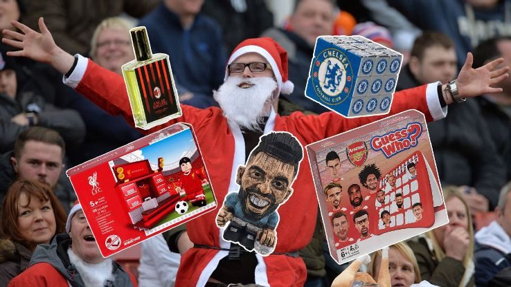 Christmas is a time for giving, and there is no shortage of gift ideas for the football fan in your life