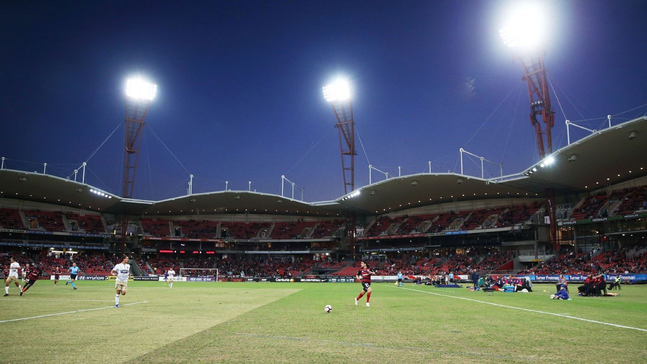 Newcastle Jets coach Ernie Merrick was unhappy with the Western Sydney Wanderers pitch.