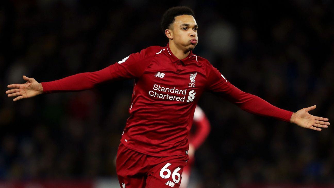 Trent Alexander-Arnold's stunning free kick vs. Watford was just the latest highlight produced by the talented 20 year old.