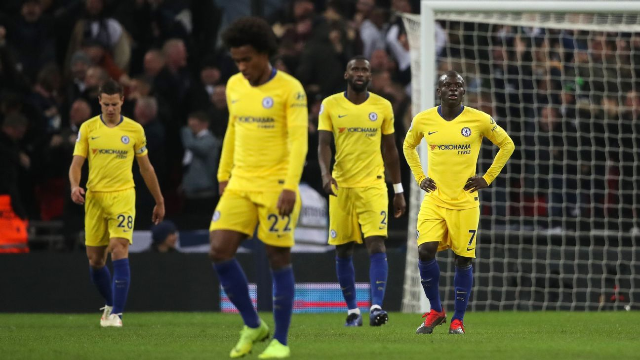 There were few bright spots for Chelsea in a 3-1 defeat to rivals Tottenham.