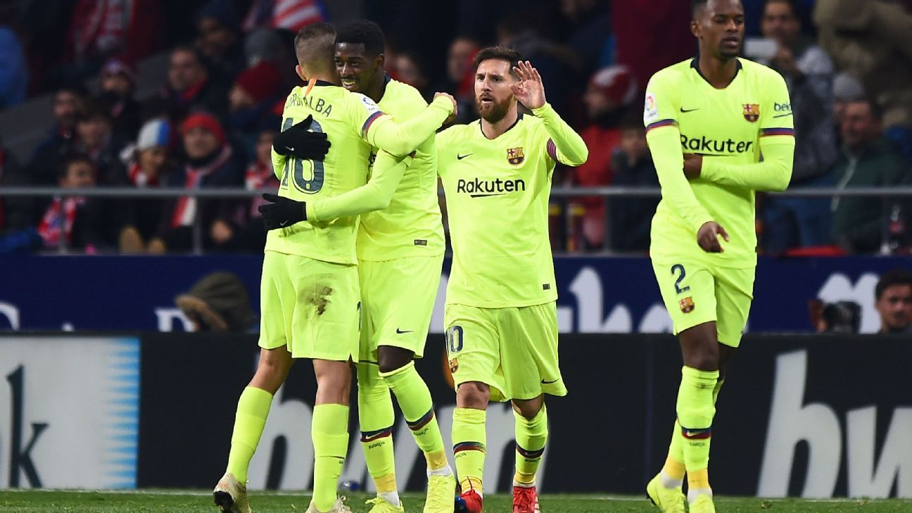 Ousmane Dembele went from whipping boy to hero with his late equaliser at Atletico Madrid.