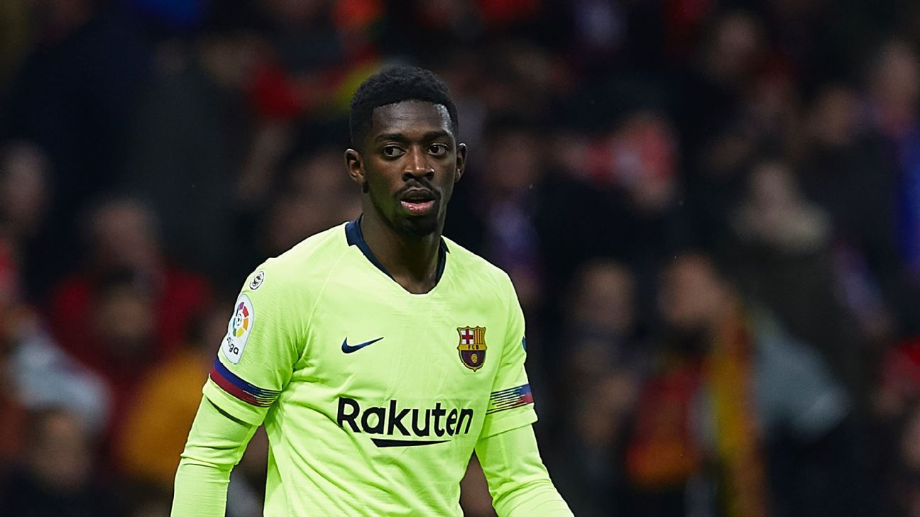 Barca security sent to find Ousmane Dembele after he was
