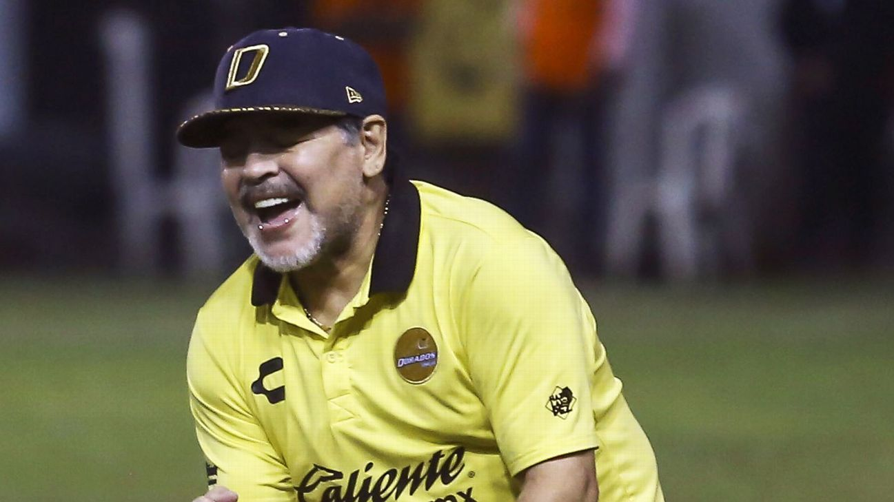 Diego Maradona's Sinaloa Dorados will fight for the Mexican second division title after beating Ciudad Juarez