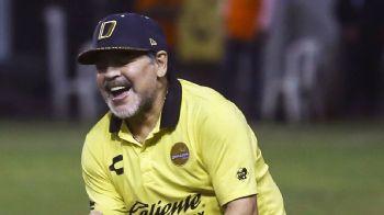 Maradona back at helm of Mexican club Dorados following