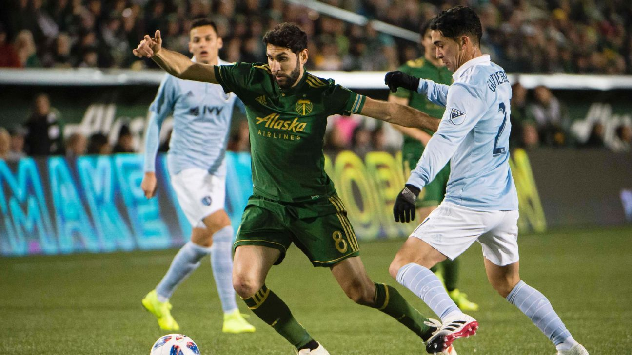 Sporting Kansas City, Portland Timbers play to scoreless draw in first leg of West final