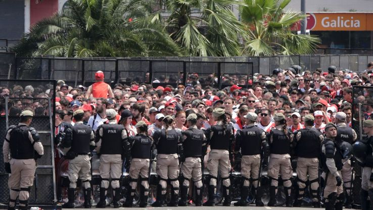 River Plate supporters crossed the line on Saturday and delivered Argentine soccer its latest black eye.