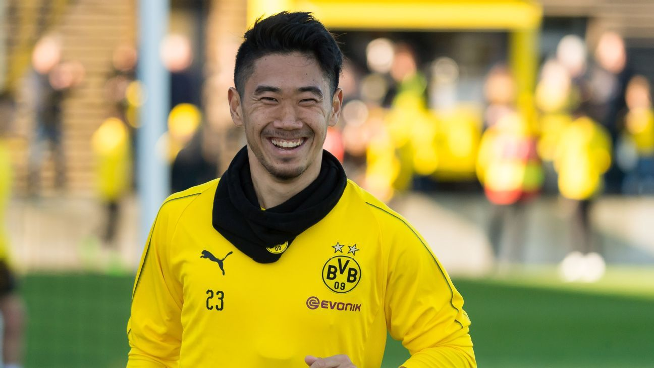 Shinji Kagawa has played for Borussia Dortmund over two spells.