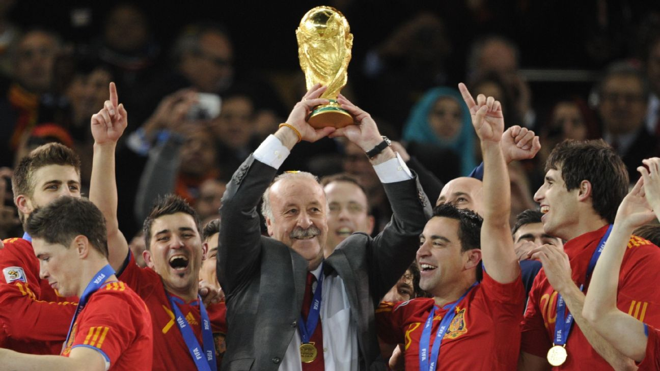 Vicente del Bosque coached Spain to victory at the 2010 World Cup and the 2012 European Championship