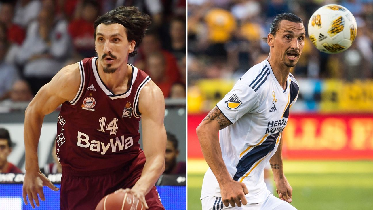 Basketball player Nihad Djedovic says he is constantly mistaken for Zlatan Ibrahimovic