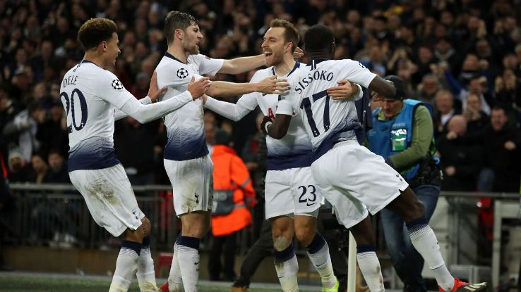 Just 10 minutes after coming on, Christian Eriksen scored the decisive goal to keep Spurs' European hopes alive.