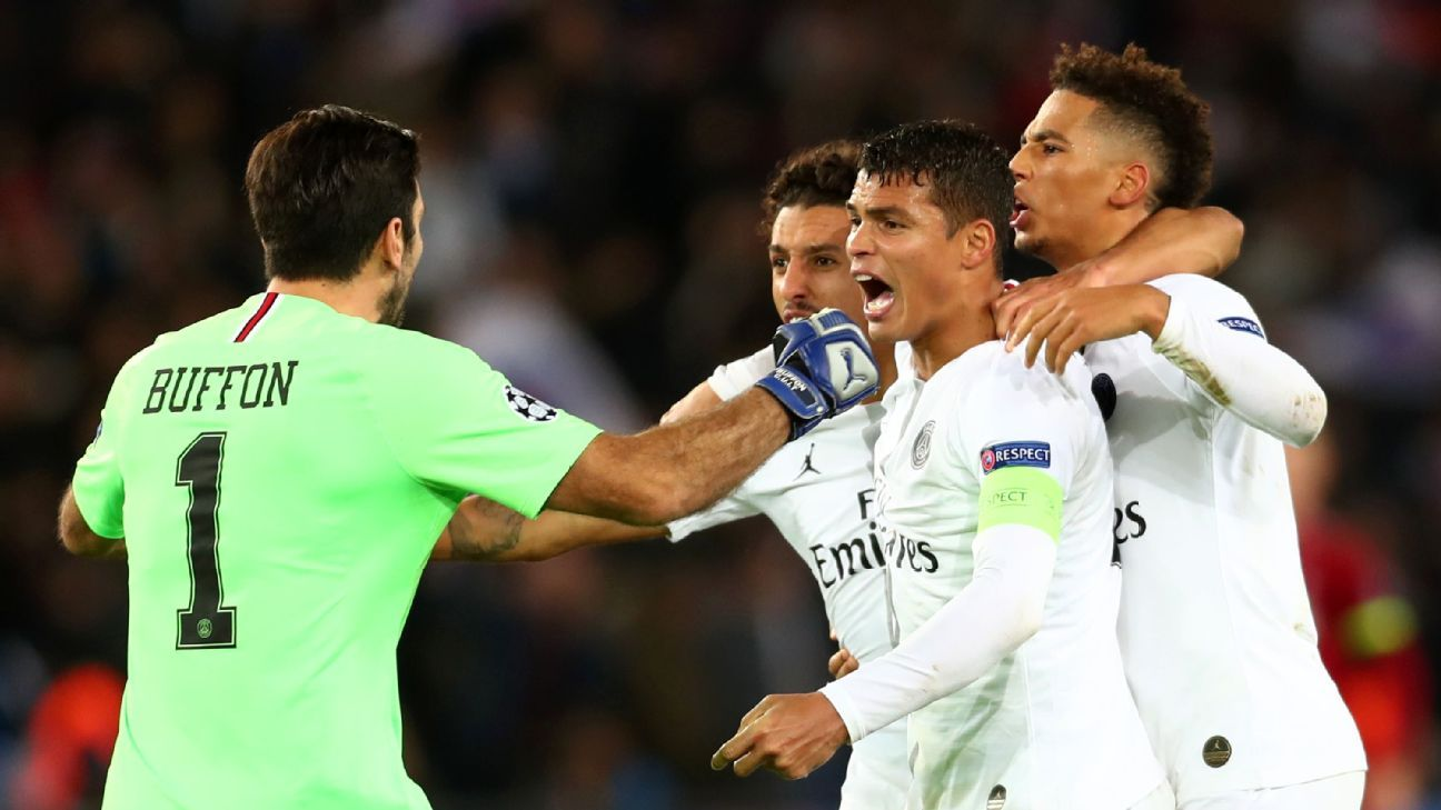 Thiago Silva put in a captain's performance, full of command and authority, as PSG ran out deserving winners over Liverpool on Wednesday.
