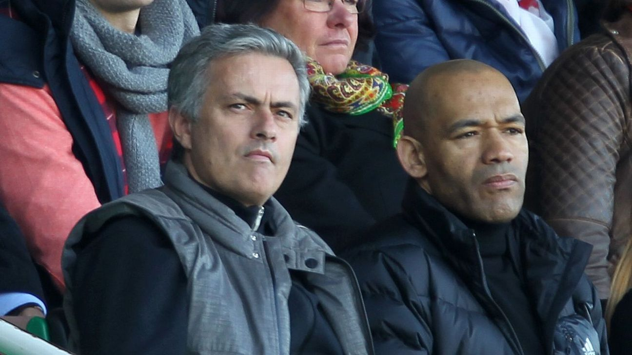 Jose Mourinho and Jose Morais