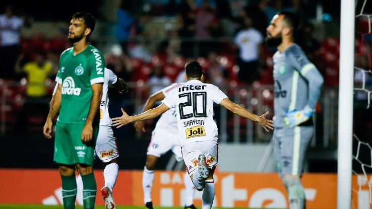 After the horrific tragedy of two years ago, Chapecoense's first-divison fate will come down to the final game of the season.
