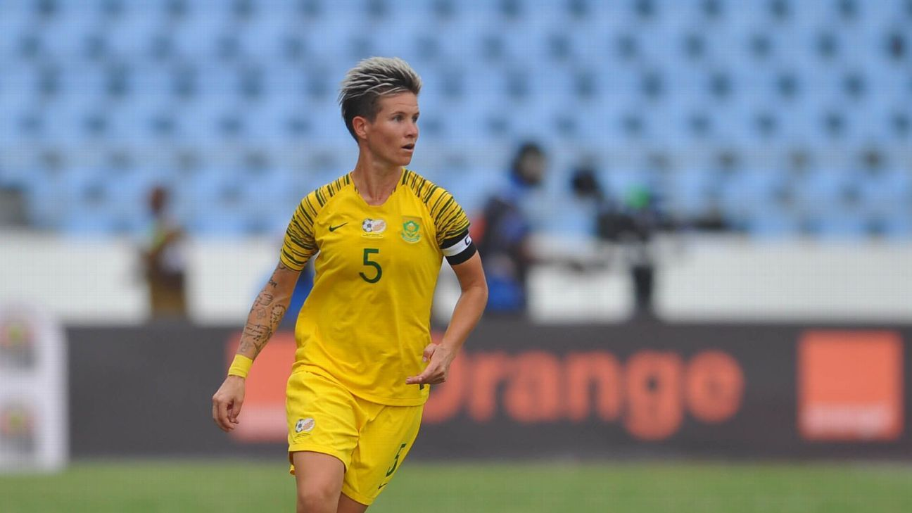 Janine van Wyk, who played for the Houston Dash in the US the past two seasons, is South Africa's most capped player, male or female.