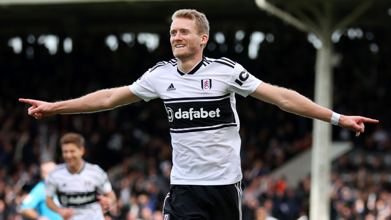 Schurrle's career was unexpectedly tough after winning the 2014 World Cup with Germany but he's back in the Premier League and enjoying his role with Fulham.
