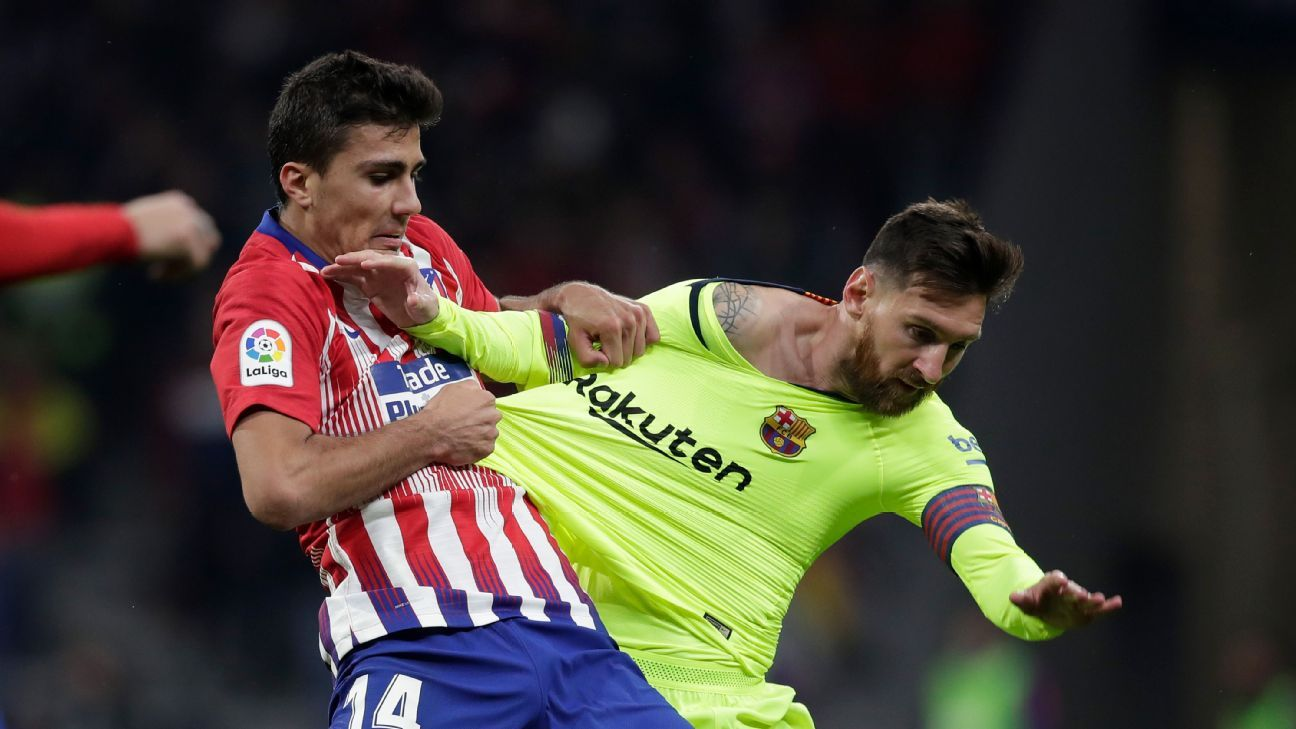 Atletico's recent 1-1 draw with Barcelona was notable for there being no shots until the 77th minute. Of the three shots on goal, two went in.