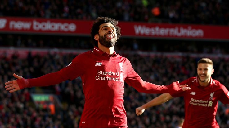 Salah's magical 2017-18 season owes a lot to his role as a wide attacker. He was able to exploit the space in the final third to the tune of 32 Premier League goals in 34 games.