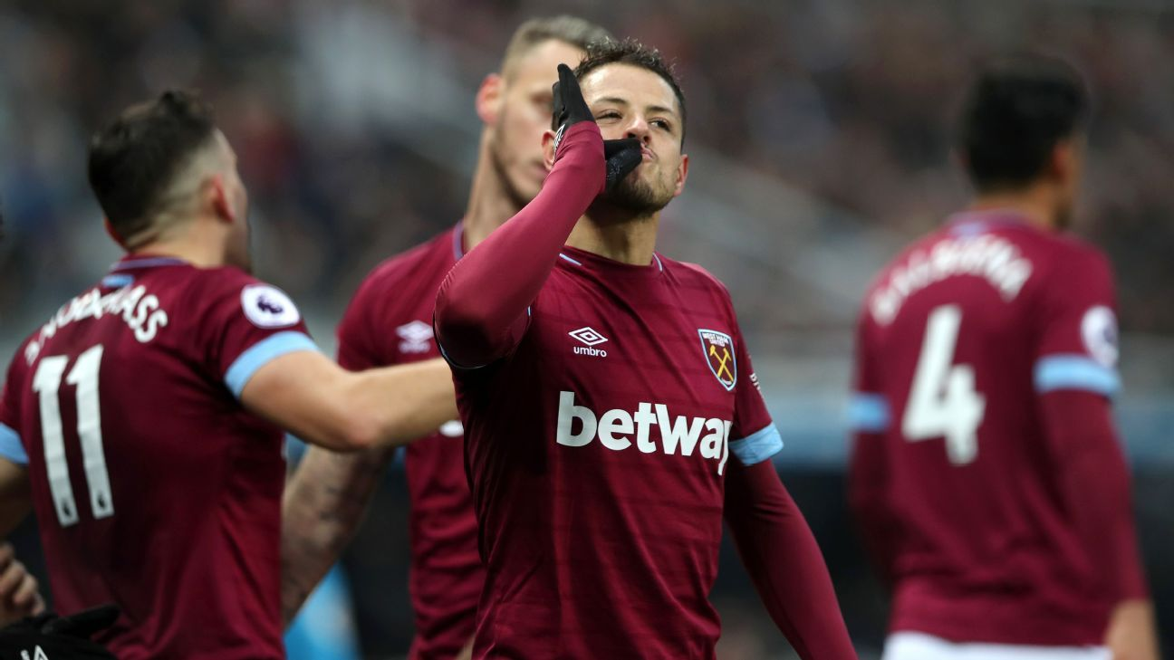 Will Javier Hernandez's brace vs. Newcastle finally earn him a run as West Ham's primary striker?