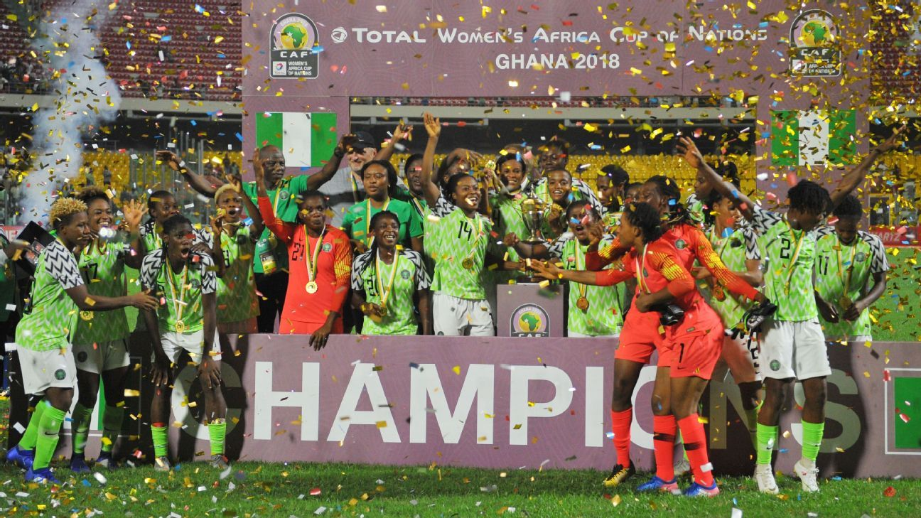 Nigeria secured their 11th African title when they beat South Africa on penalties on Saturday.