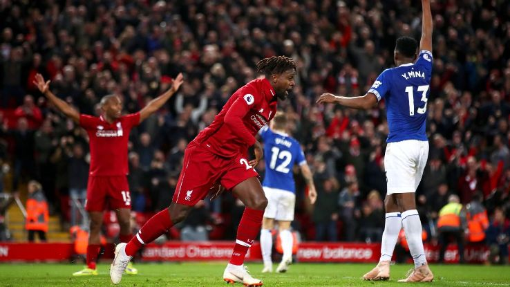 Divock Origi's 96th-minute winner was a bit fortunate but could prove quite important for title chasers Liverpool.
