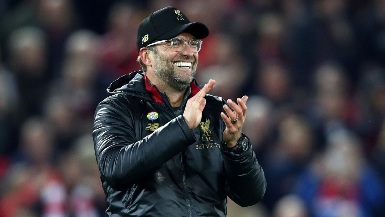 Jurgen Klopp's explosion of joy wasn't about beating Everton, something he's done often, but about keeping pace at the top with Man City.
