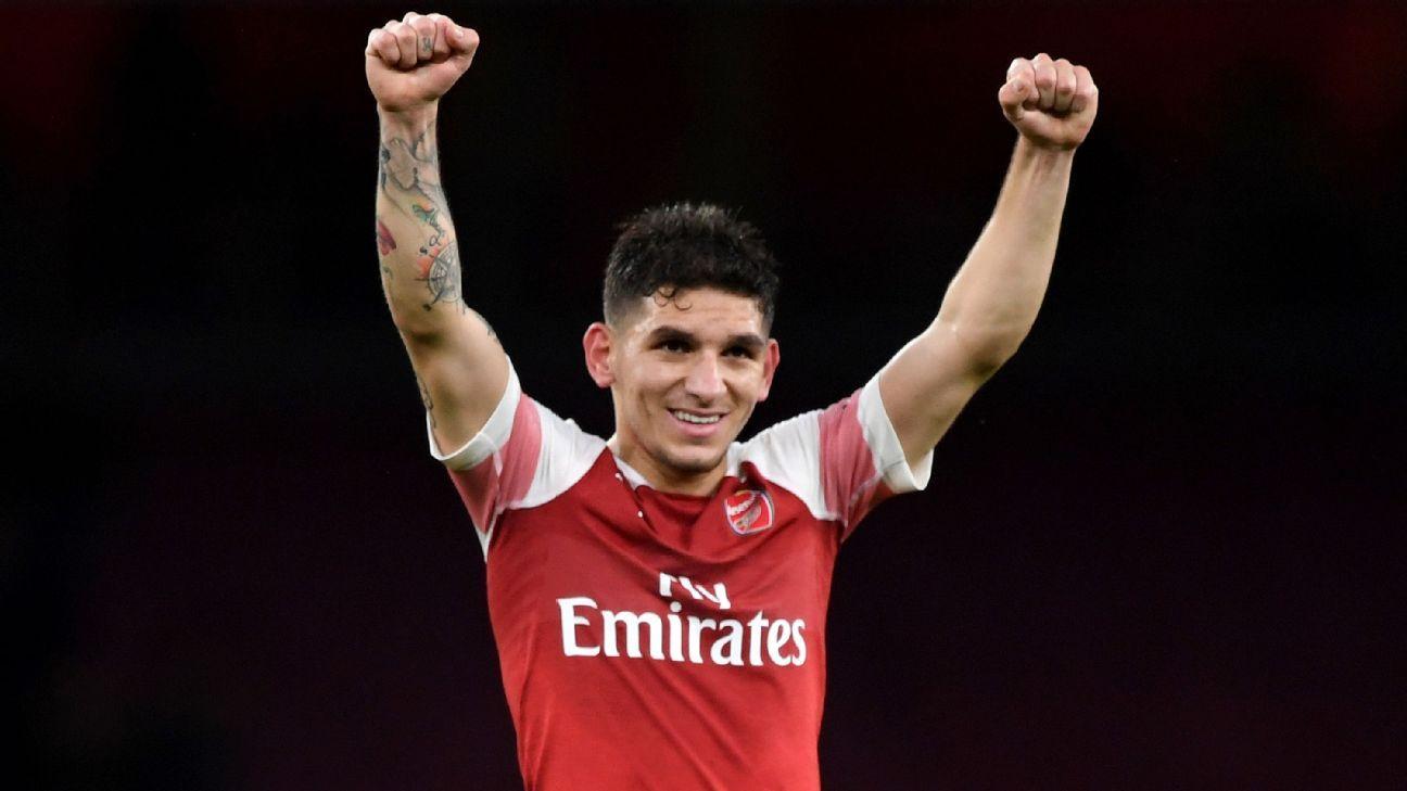 Lucas Torreira impressed in Arsenal's win against rivals Tottenham.