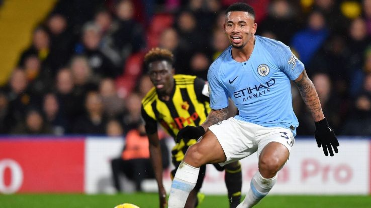 Gabriel Jesus has just one goal in almost 500 Premier League minutes this season.