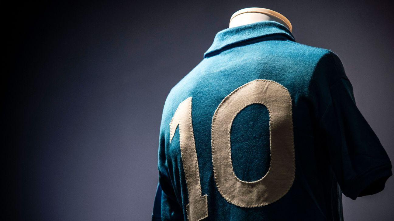 Diego Maradona Napoli 1987 shirt 2