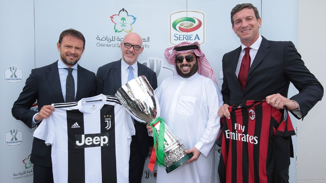 The Italian Supercoppa match between Juventus and AC Milan will go ahead in Jeddah on Jan. 16