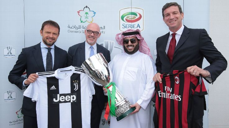 The Italian Supercoppa match between Juventus and AC Milan in Jeddah will have sections reserved for me in the crowd