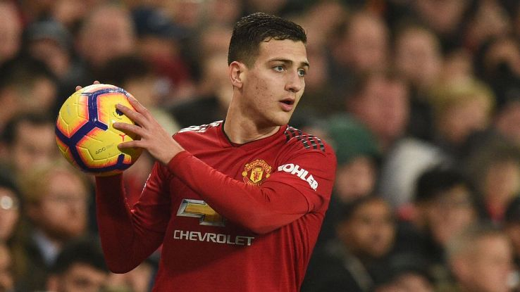 Diogo Dalot made his first Premier League start for Manchester United against Arsenal