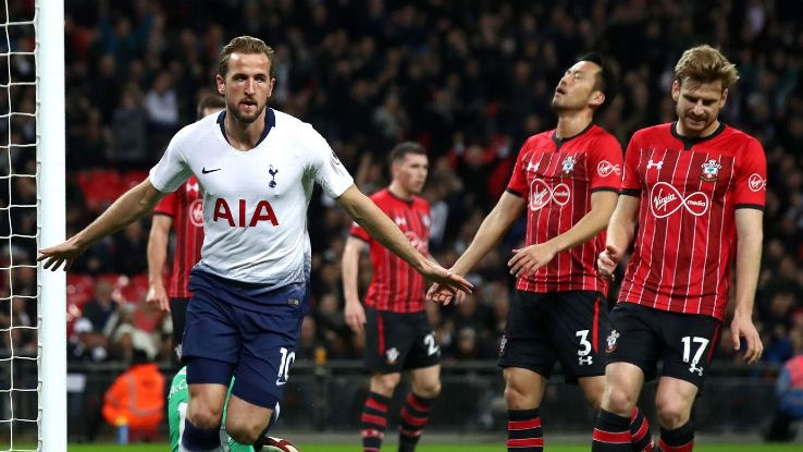 Harry Kane scored the opener and assisted on Son's  tally as Spurs ran out 3-1 winners over Southampton.
