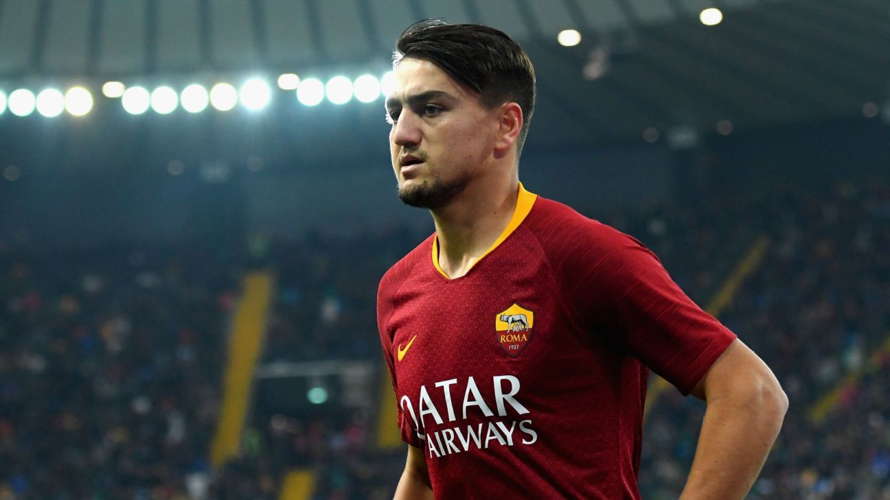 Cengiz Under scored eight goals in his first season at Roma after moving from Basaksehir in 2017