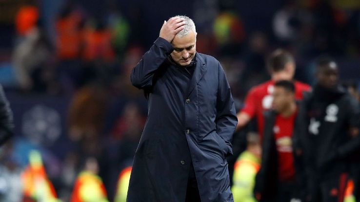 Jose Mourinho's job likely depends on him leading Man United to a top-four position, a proposition that looks highly unlikely at present.