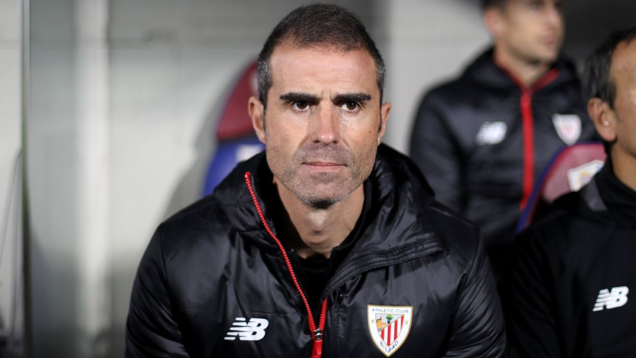 Twelve years after his father rescued Athletic Bilbao, Gaizka Garitano is being asked to work a similar magic even though the league in which they're trying to remain has changed a lot since.