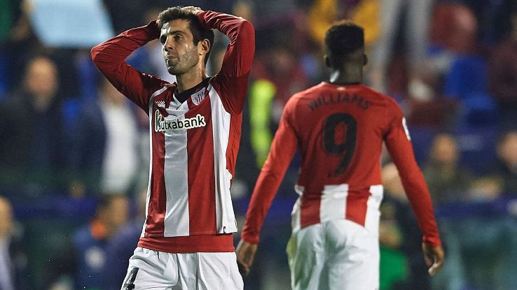 Bilbao are one of only three clubs never to be relegated from the Spanish first division but one win from their first 14 games has them on the precipice.