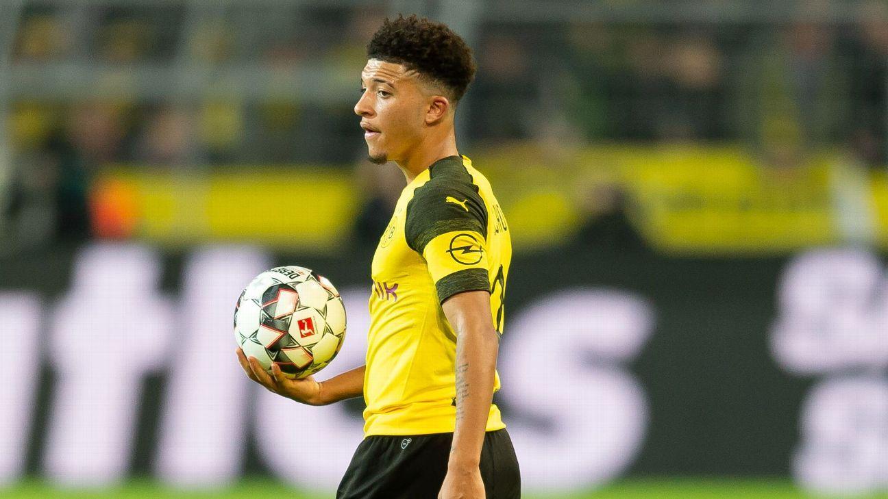 Jadon Sancho continued his spectacular form for Borussia Dortmund in their Bundesliga win against Schalke.