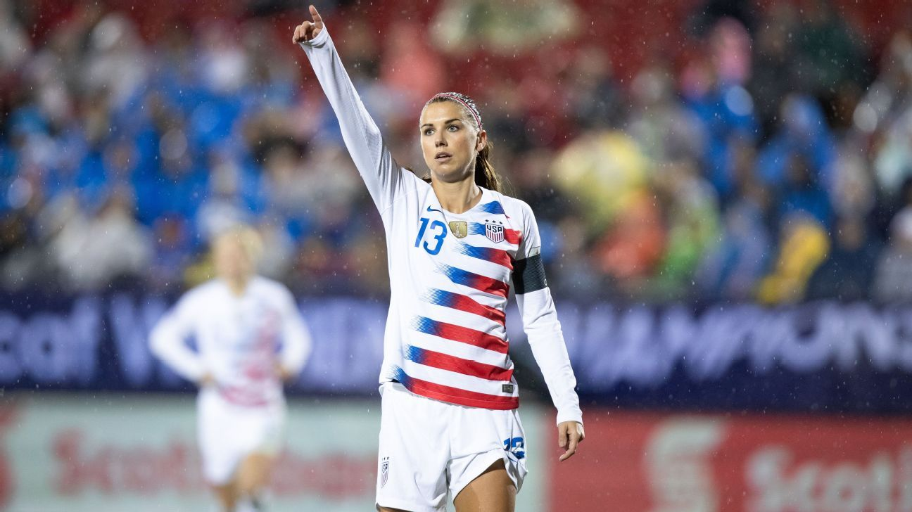 Alex Morgan and the USWNT will look to defend their title for the first time in its history.