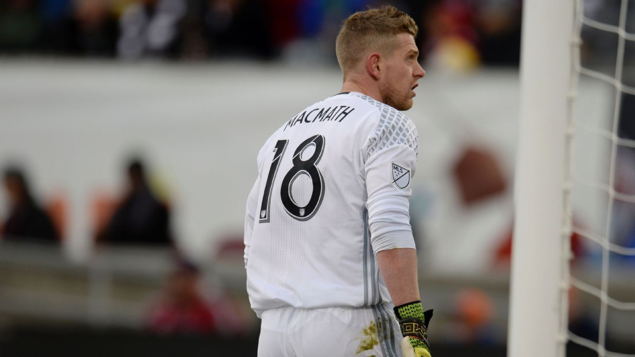Colorado Rapids send Zac MacMath to Vancouver Whitecaps for Nicolas Mezquida