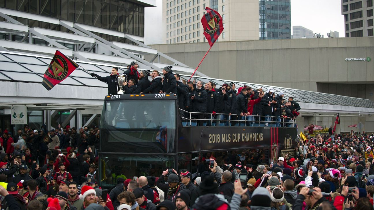 Atlanta United's MLS Cup party is winding down, but hangover of trying to stay on top is just beginning