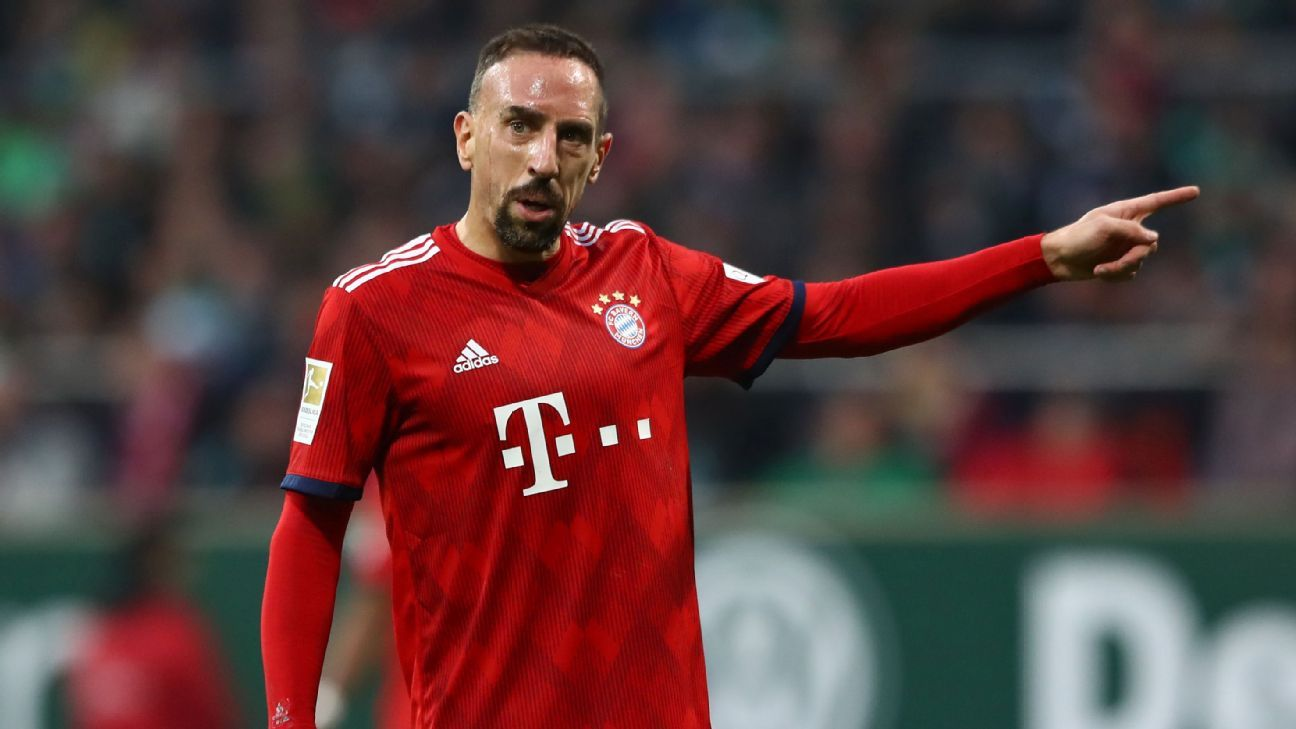 Bayern Munich's Franck Ribery set for summer exit amid 'year of changes'