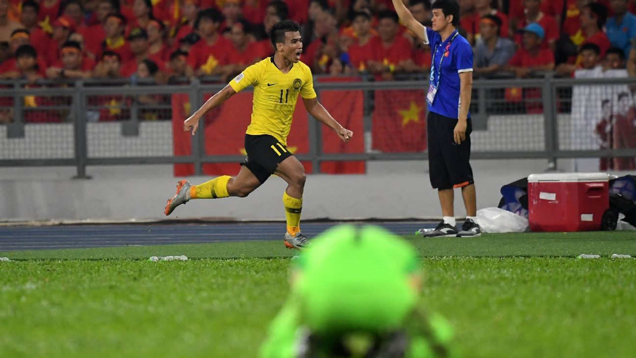 Malaysia battle back to draw with Vietnam in AFF Suzuki Cup final