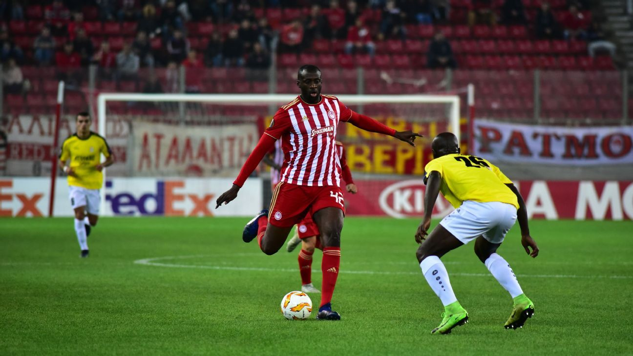Yaya Toure's second stint at Olympiakos is over after three months and five appearances, the club announced.