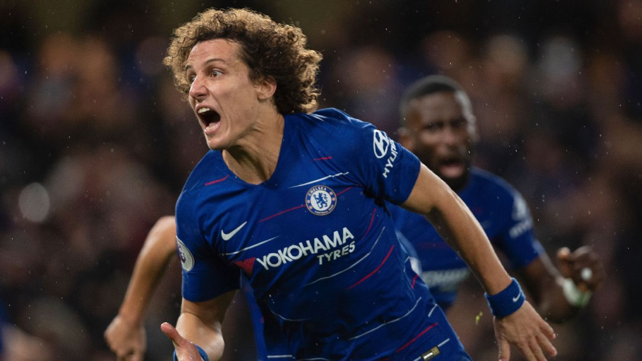 David Luiz saved his best game of the season for Man City's visit, showing how he can influence with a clever pass from the back as well as from set pieces.