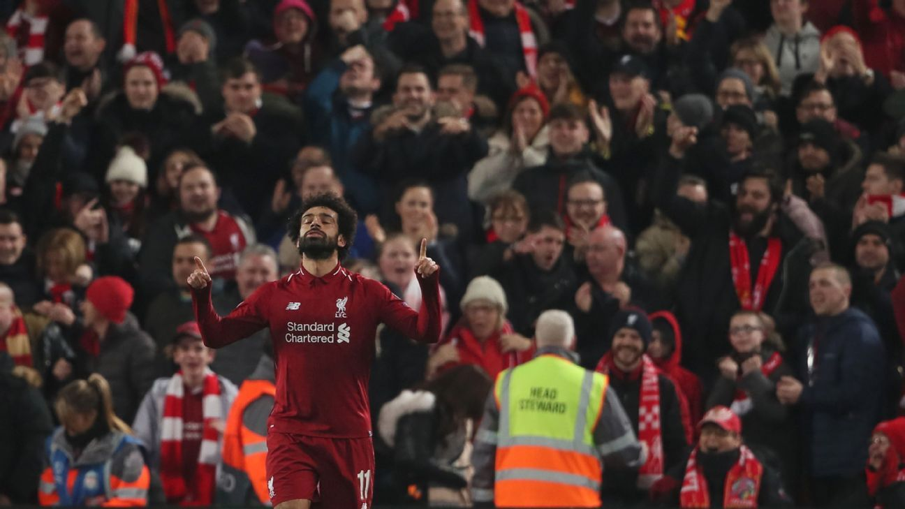 Salah's goal proved to be just enough as Liverpool advanced to the last-16 with a narrow win over Napoli.