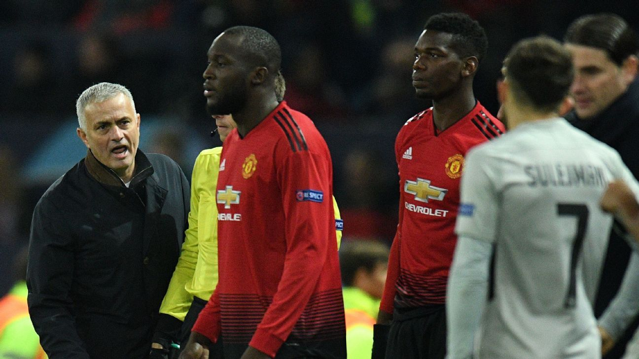 Jose Mourinho has been unable to make a team out of star individuals like Romelu Lukaku and Paul Pogba.