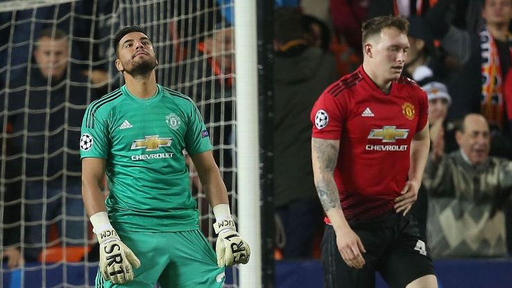 On a night when Man United were truly poor, Phil Jones and Sergio Romero's comical mix up told the entire story.