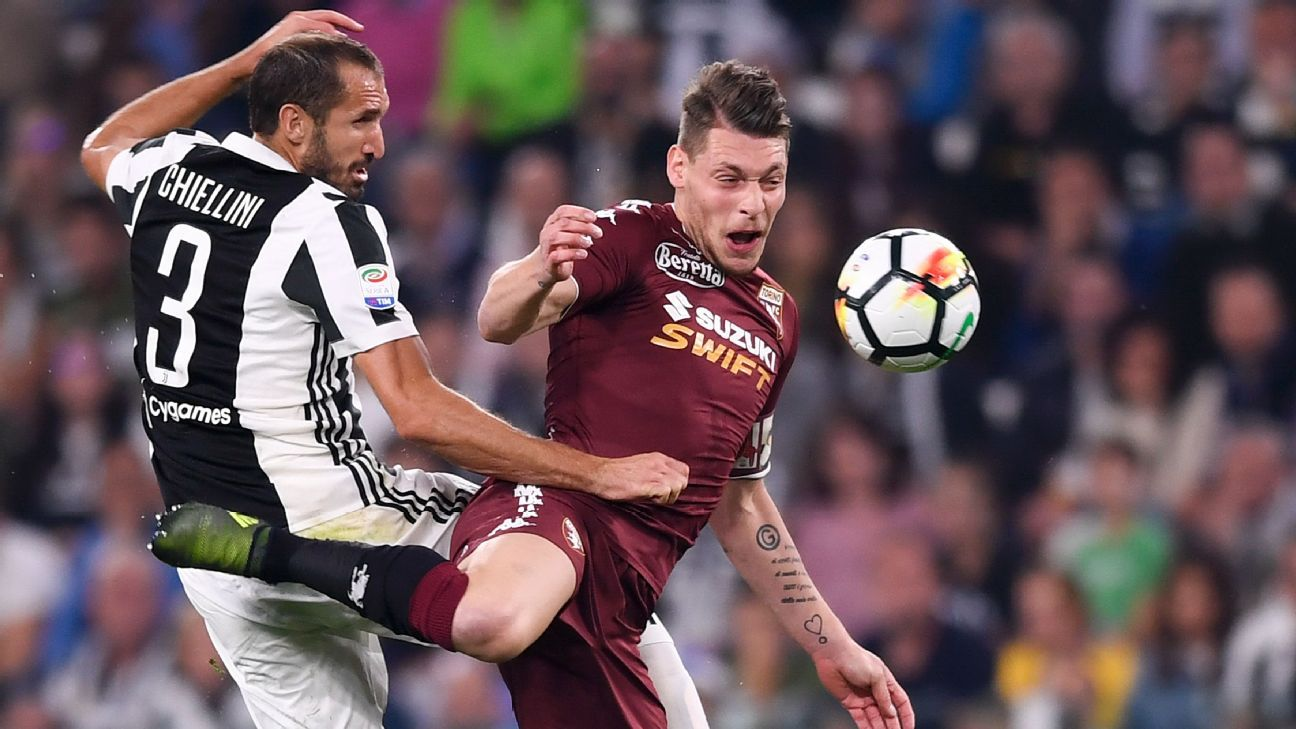 For Torino and striker Andrea Belotti, right, facing Juventus is always the biggest game on the schedule. This weekend's derby is a good chance for them to ruin Juve's unbeaten season.
