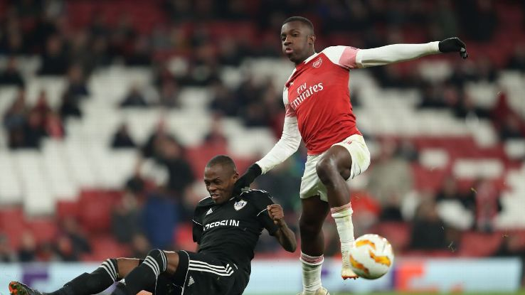 Out of all of Arsenal's youngster given a run out, it was Eddie Nketiah who shined brightest vs. Qarabag.